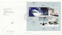 2002-05-02 Airliners M/S Heathrow Airport FDC (60001)