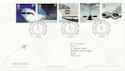 2002-05-02 Airliners Stamps Heathrow Airport FDC (60002)