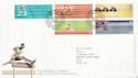 2002-07-16 Commonwealth Games Manchester FDC (60003)
