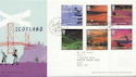 2003-07-15 Scotland A British Journey Baltasound FDC (60009)