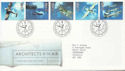 1997-06-10 Architects of the Air Bureau FDC (60031)