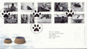 2001-02-13 Cats & Dogs Stamps Bureau FDC (60034)