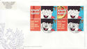 2002-10-01 Greetings Stamps Ex Label Sheet 9 FDC (60045)