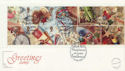 1992-01-28 Greetings Stamps Whimsey FDC (60209)