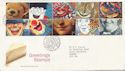 1991-03-26 Greeting Stamps Bureau FDC (60216)