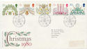 1980-11-19 Christmas Stamps Waltham Abbey FDC (60221)