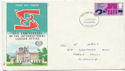 1969-04-02 Labour Org Anniv Stamp Plymouth FDC (60375)