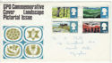 1966-05-02 Landscapes Stamps Plymouth FDC (60385)