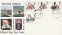 1980-07-09 Famous Authoresses Forces cds FDC (60484)