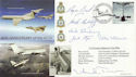 2002-05-02 Airliners VC10 Anniv Multi Signed FDC (60496)
