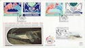 1994-05-03 Channel Tunnel Folkestone Silk FDC (60511)