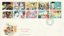 1993-02-02 Greetings Stamps Cardiff FDC (60572)