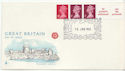 1980-01-16 10p Multi Value Coil Windsor FDC (60617)
