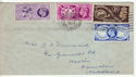 1949-10-10 KGVI Universal Postal Union London FDC (60723)