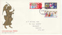 1969-11-26 Christmas Stamps Cardiff FDC (60745)