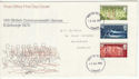 1970-07-15 Commonwealth Games Stamps Cardiff FDC (60753)