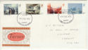 1975-02-19 Turner Paintings Stamps Cardiff FDC (60762)