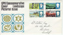 1966-05-02 Landscapes Stamps Cardiff FDC (60823)