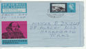 1964-04-23 Shakespeare Air Letter Harrogate FDC (60868)