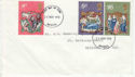 1970-11-25 Christmas Stamps Bristol FDC (60875)