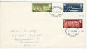 1970-07-15 Commonwealth Games Stamps Darlington FDC (60893)