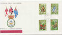 1981-05-13 Butterflies Stamps FPO cds FDC (60925)