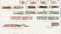 1984 Bulk Buy x9 FDC from 1984 CV �27 (60976)