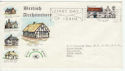 1970-02-11 Architecture Paddington Boxed Slogan FDC (60994)