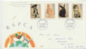 1990-01-23 RSPCA Stamps Brighton FDC (61019)