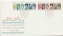1986-04-21 Queens Birthday Stamps Bureau FDC (61033)