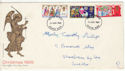 1969-11-26 Christmas Stamps Brighton FDC (61142)