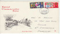 1969-11-26 Christmas Stamps Chesterfield FDC (61143)