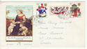 1968-11-25 Christmas Stamps Blackheath cds FDC (61158)