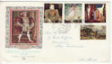 1968-08-12 British Paintings Stamps Barrow cds FDC (61226)
