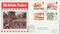 1983-10-05 British Fairs Stamps Appleby cds FDC (61274)