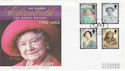 2002-04-25 Queen Mother Stamps Windsor FDC (61334)