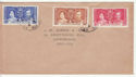 Leeward Islands 1937 Coronation Stamps on Cover (61394)