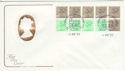1983-04-05 1.46p Booklet Stamps Windsor FDC (61404)