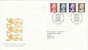 1999-03-09 High Value Definitive Stamps Bureau FDC (61407)