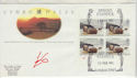 1992-02-25 Wales Bklt Stamps London SW1 FDC (61414)