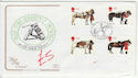 1997-07-08 Queens Horses Stamps Kenilworth FDC (61416)