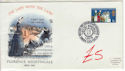 1970-04-01 Florence Nightingale Stamp BF 1205 PS FDC (61428)