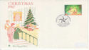 1987-11-17 Christmas Star Underprint Stamp Star FDC (61492)