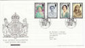 2002-04-25 Queen Mother Tallents House FDC (61526)