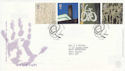 2000-05-02 Art and Craft Stamps Salford FDC (61571)