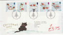 2001-11-06 Christmas Stamps T/House FDC (61585)