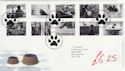 2001-02-13 Cats and Dogs Stamps Bureau FDC (61587)