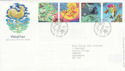2001-03-13 Weather Stamps Bureau FDC (61598)