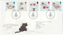 2001-11-06 Christmas Stamps T/House FDC (61600)