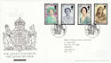 2002-04-25 Queen Mother Tallents House FDC (61606)